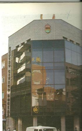 Centro Cívico 1983. Cortesía de Alberto García