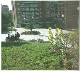 Parque de la Avenida de los Cantos 1983 (por debajo del actual Mercadona). Cortesía de Alberto García.