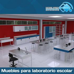 laboratorios escolares, muebles para laboratorios escolares