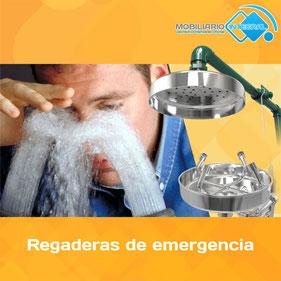 Regaderas de emergencia, estaciones de emergencia, lavaojos