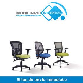 Sillas de envio inmediato, sillas para oficina