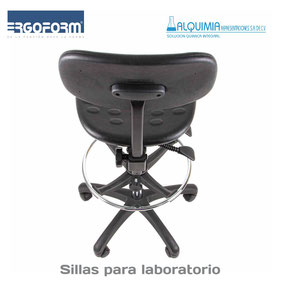Sillas para laboratorio, muebles para laboratorio, sillas industriales