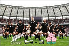 Japan -v- New Zealand