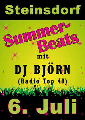 06.07.2013 Summer-Beats in Steinsdorf