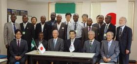 ナイジェリア自動車リサイクル技術士研修2013