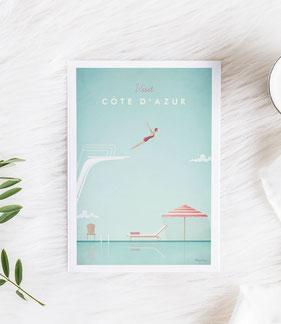Wunderbare Orte Poster und Prints im skandinavischen Stil