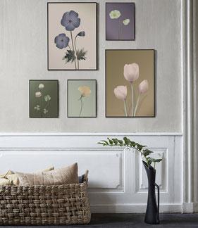 Floral Poster und Prints skandinavische Poster