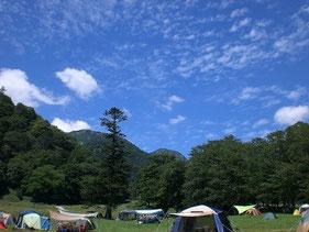 2009年8月 9年前の奥日光でのキャンプ