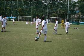 Bチームの練習