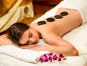 Hot Stone Massage - erleben Sie die Kraft der heissen Steine - das muss man probiert haben