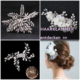 Haarschmuck Braut Haarklammer Hochzeit Braut Haarklammmer Braut Kopfschmuck Brautschmuck Haarklammern Brautschmuck Perlen Haarschmuck Hochzeit
