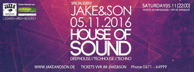 05.11.2016: House Of Sound - Spirit Of The 90s meets Recharge, Jake & Son Bad Kreuznach
