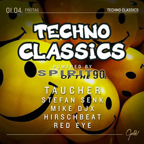 01.04.2016: Techno Classics powered by Spirit Of The 90s, Gold Bad Kreuznach
