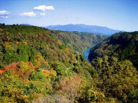 日本渓谷百選 「蘇陽峡」