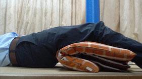 腰椎ヘルニアで腰が痛い奈良県御所市の男性