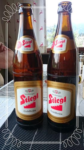 Gutes kräftiges Bier: Stiegl