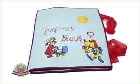 Quietbook Activity book sewing Spielbuch nähen