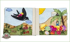 Quietbook Activity book sewing Spielbuch nähen Anleitungen Tutorials