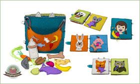 Fütterungszeit - Spielbuch für Kleinkinder