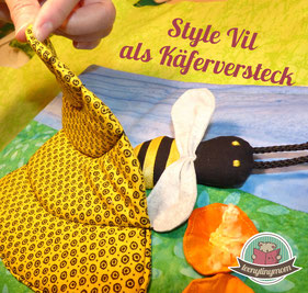 Style Vil Vlieseline Quiet book Spielbuch Stoffbuch