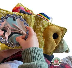 Minibuch Nähanleitung Kinderwagen Nähanfänger