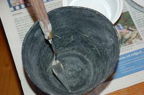 Gummischale und Spatel für die Seifenschale, Die kleine Perlenwerkstatt