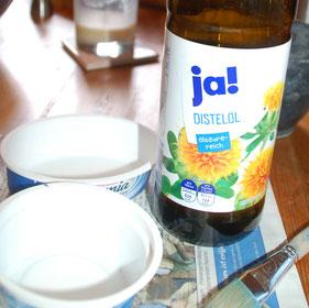 Trennmittel Speiseöl für die Seifenschale, kleine Perlenwerkstatt
