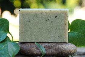 jabón de arcilla verde-cosmética natural ecológica