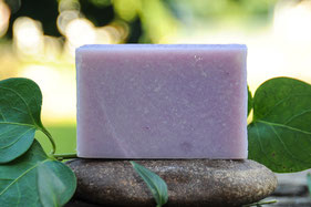 jabón de lavanda-cosmética natural ecológica