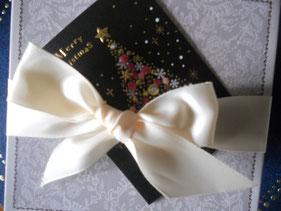 友人のののこさんに明太子を送ったら、こんな素敵なプレゼントになって返ってきました。素敵なクリスマスを過ごせそうです。ありがとう。