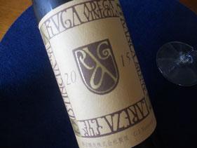 こちらのワインは日本の蔵のもの。美味しかった。