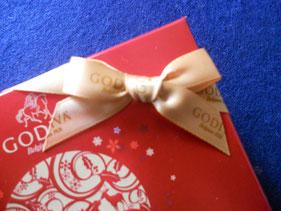 プレゼントにいただいたチョコレート。一粒ずつ大切に頂こう。