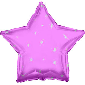 BALLON ETOILE ROSE PASTEL DECO ANNIVERSAIRE - PASTEL STAR BALLOON PARTY DECORATION