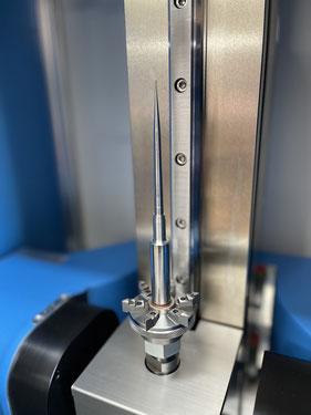 Spritzgussform welche durch Läppen und Polieren aufgearbeitet wird, um eine optimale Entformung zu gewährleisten