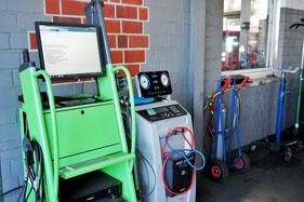 Tester, Klimaservice, Motortester, Diagnose