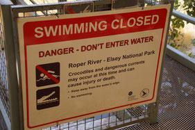 Australien,  Gefahren, Sicherheit