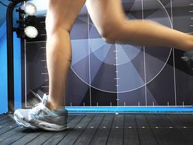 Bewegungsanalyse Focus - die Knie- und Bein-Analyse