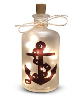 Flaschenlicht Anker