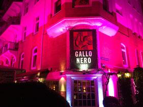 Eingang vom Ristorante Gallo Nero