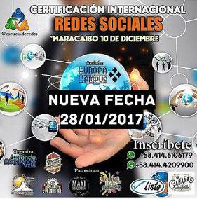 Certificación Internacional en Redes Sociales - Aprende y Emprende Vzla
