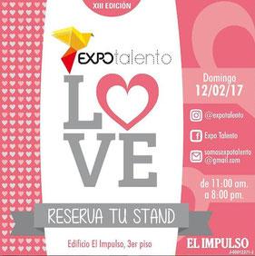 Expo Talento - Love, Edición XIII