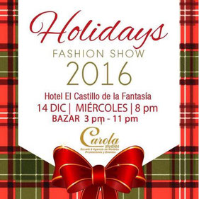 Bazar Navideño Holidays Fashion Show - Day To Day Bazar