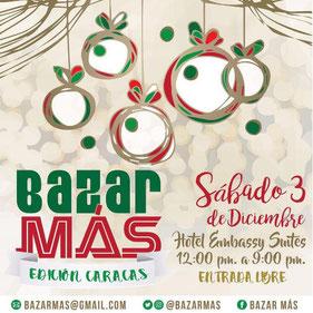 Bazar Más - Edición Navidad / Caracas