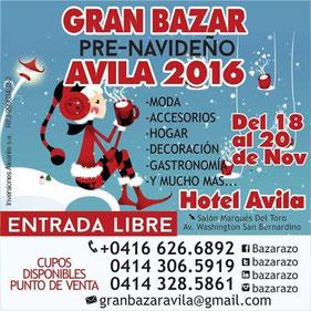 Gran Bazar Pre-Navideño - Ávila 2016