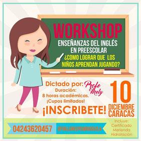 Workshop - Talleres y Cursos Venezuela