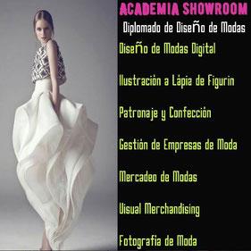 Diplomado de Diseño de Modas - Academia Showroom