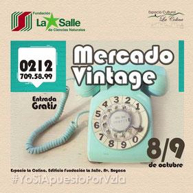 Mercadito Vintage - Espacio Cultural La Colina