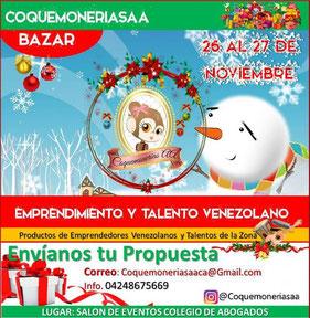 Bazar Coquemonerias AA - III Edición Navidad