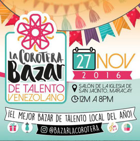 Bazar La Corotera - Bazar de Talento Venezolano
