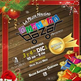 Bazar Artístico Guayana - Edición Navideña